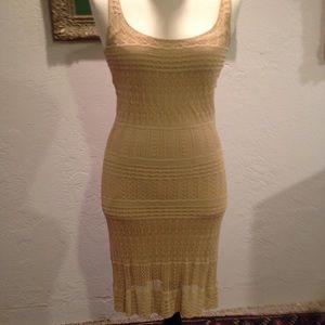 Ralph Lauren Black Label pointelle crochet dress M